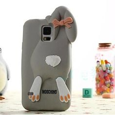 Lovely Rabbit Pattern Case for Samsung Galaxy S5 I9600(Assorted Colors) – NOK kr. 66