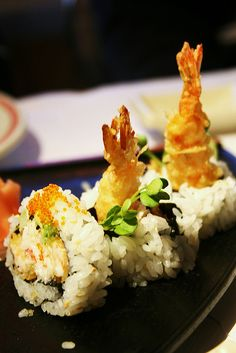 Tempura Shrimp Sushi Roll from Niwa in Orinda 2 | Flickr - Photo Sharing!