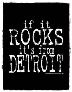 Go ahead and ask bands what one of the best city's to play in is. We have the best music fans in the world for all genres