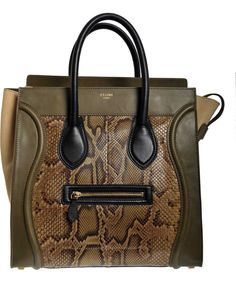 Celine Luggage  with python