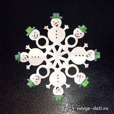 Красивые и необычные снежинки из бумаги. Сегодня мы превратим вырезание снежинок в настоящее творческое занятие для детей.