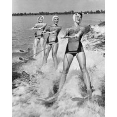 """Determine more relevant information on """"water skiing"""". Take a look at our web site. Black And White Portraits, Black And White Photography, Old Pictures, Old Photos, Goldscheider, Cap Ferret, Vintage Swimsuits, Pin Up, Vintage Florida"""