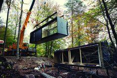Installation et pose maison prébriquee