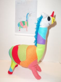 Your child's drawing made into a Cuddly toy.   myowncuddly.com