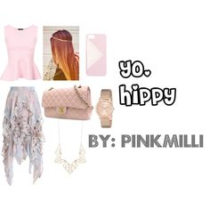 Yo, Hippy by pinkmilli on Polyvore featuring Zimmermann, Chanel, GUESS, Panacea and J.Crew