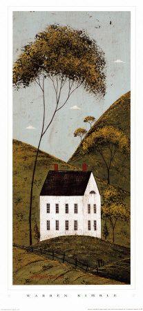 "Warren Kimble, ""Country House"""