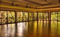 El Silencio - the space for our Nia and yoga sessions during the retreat.