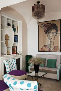 Capri Tiberio Palace Official Site: 5 Stars Hotel in Capri - Kosher Restaurant - Luxury hotel in Capri with pool and kosher restaurant Living Etc, Vintage Hotels, Hotel Decor, Hotel Interiors, Eclectic Style, Palace, Capri, House Design, Interior Design