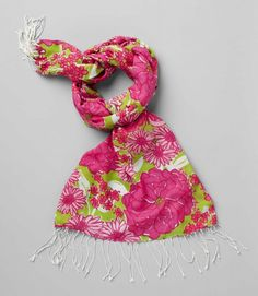 The Junior League's very own Lilly Pulitzer Murfee Scarf .... a must have!