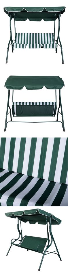 Swings 79700: Outdoor Patio Swing Canopy Chair Awning Yard Furniture 2  Person Bench Seat  U003e BUY IT NOW ONLY: $95.98 On EBay!