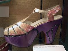 Carmen Miranda platform shoes