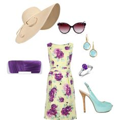 Kentucky Derby Outfit, created by jamie-preston on Polyvore