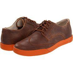 Cole Han with orange soles.  Yum.