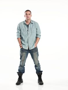 Epic combat boots Mr. Salling! #Glee
