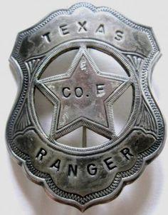 old texas ranger badge | Old Texas Ranger Badge | eBay