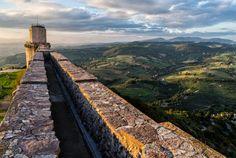 Assisi view from rocca maggiore by Leonardo Acquisti on 500px