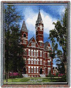 Auburn University, Samford Hall II - Throw Blanket