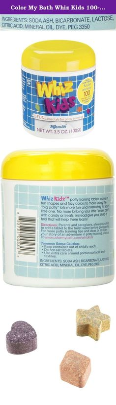 Color My Bath Whiz Kids 100-Piece Potty Training Tablets. Toysmith's mission is to supply quality toys and gifts while delivering superior customer service to retailers. We offer products in many key categories including: active play, science & discovery, arts & crafts, impulse & novelty toys, and nostalgic retro classics! Since our inception in 1981 our owners, Bill and Nancy Smith, have worked very diligently to grow from a small family business, shipping from their garage, to a large...