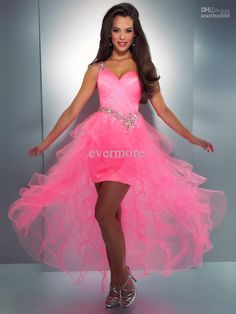 Mac Duggal Prom 2013 - One Shoulder Hot Pink Dress With Ruffled Tulle Skirt - Unique Vintage - Cocktail, Pinup, Holiday & Prom Dresses. on Wanelo Homecoming Dress Websites, Sexy Homecoming Dresses, Prom Dress 2014, Dresses 2013, Cheap Prom Dresses, Pageant Dresses, Evening Dresses, Prom Gowns, Formal Dresses