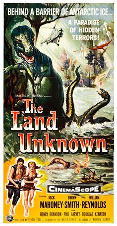 Reynold Brown - The Land Unknown (Universal International, 1957) Three Sheet