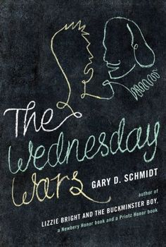 The Wednesday Wars by Gary D. Schmidt - I just got done listening to the audio book and it was AMAZING!