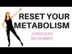 HOME WORKOUT - TO RESET YOUR METABOLISM - to help with weight loss - YouTube