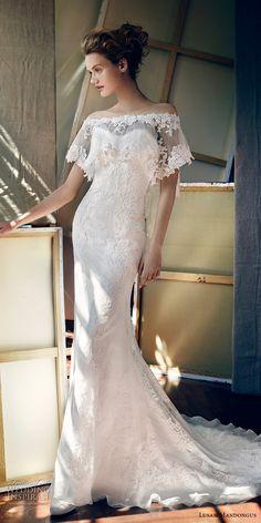 lusan mandongus 2017 bridal strapless sweetheart neckline full embellishment elegant fit and flare wedding dress off the shoulder capelet chapel train (piscis) mv