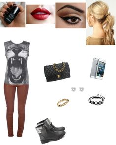 """""""Rocker Outfit? Yuppers :D"""" by isabel408 ❤ liked on Polyvore"""