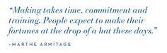 Marthe Armitage: Making Takes Time — UPPERCASE