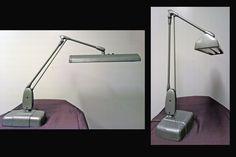 mid century office task lamp | ... Mid Century Modern DAZOR Floating Adjustable Swing Arm Task Desk Lamp
