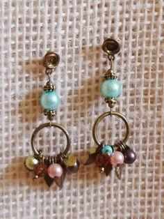 Brincos Argola e Pérolas - Hoops and Pearls Earrings   Beat Bijou   Elo7