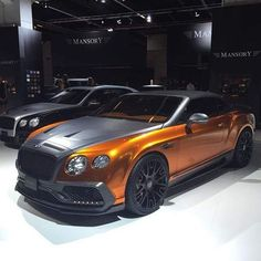 Mansory Bentley GTC #Supercars #Cars