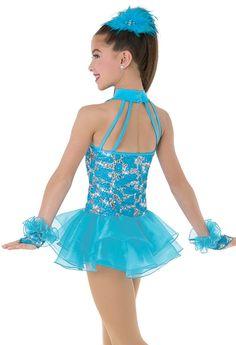 Weissman™ | Drop Waist Shimmer Organza Dress
