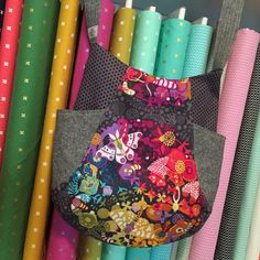 """This is a panel fabric that measures 24"""" by 44"""" or width of fabric. SK    saved for 241 tote bag idea"""