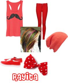 """rayita"" by almendra-siomara-ossandon-plaza ❤ liked on Polyvore"