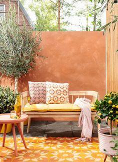 Outdoor Sofa, Outdoor Furniture, Outdoor Decor, Backyard, Patio, Garden Inspiration, Terrace, Garden Design, New Homes