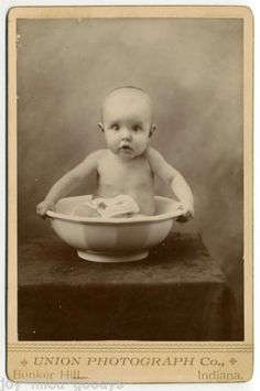 CUTE-WIDE-EYED-BABY-IN-A-BOWL-1890s-CABINET-PHOTO