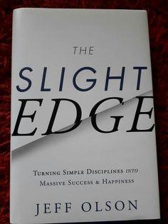 The Slight Edge, Self Development Books, Success, Happy, Books, Ser Feliz, Happiness, Being Happy