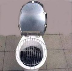 Redneck Grill...first it was kinda funny...now I just feel sick...