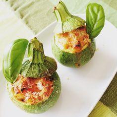 #Zucchine ripiena di #pasta