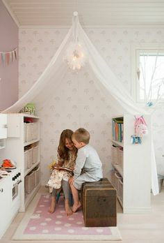 kids reading room! - kid spaces