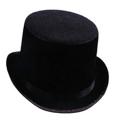 579661a914971 Costumes For All Occasions GA101LG Top Hat Black Felt Large - Costumes