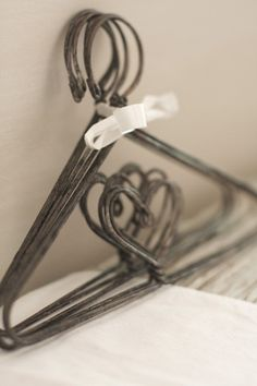 On old Wire hangers