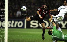 Real Madrid Iker Casillas Champions League Ac Milan Filippo Inzaghi Football Ball