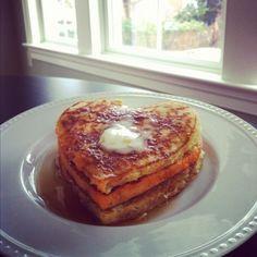 Perfect Valentine's Pancakes