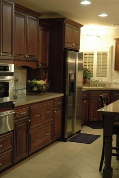 """Part of a """"Whole House"""" remodel, this kitchen and eating area were perfect for these empty nestors. (Cultivate.com)"""
