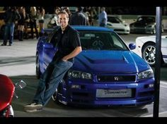 """topvehicles: """" In memories of the late Paul Walker AKA Brian O'Conner- The Skyline GTR R34 """""""