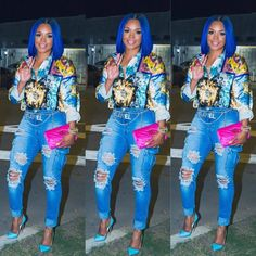 Likes, 44 Comments - Slick Spring Fashion Outfits, Trendy Fashion, Fashion Show, Fashion Ideas, Winter Outfits, Funky Hair Colors, Cool Outfits, Casual Outfits, Love And Hip