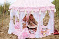 maravillosas casitas de tela  fuente: prinserogprinsesser