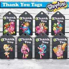 Shopkins Thank You Tags-Shopkins Thank You by MontageDigiArt